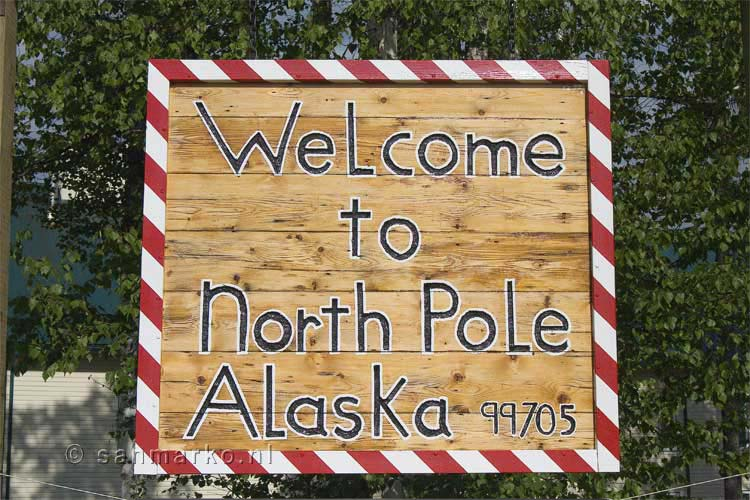 Welkom in North Pole, Alaska