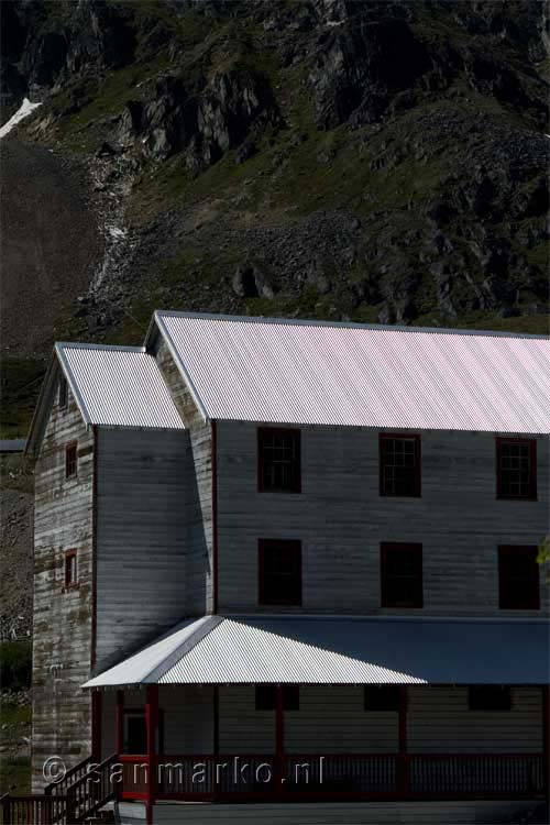 Independence mine op Hatcher Pass in Alaska