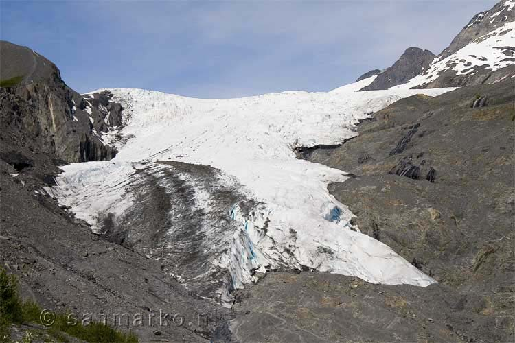 De Worthington Glacier in Alaska