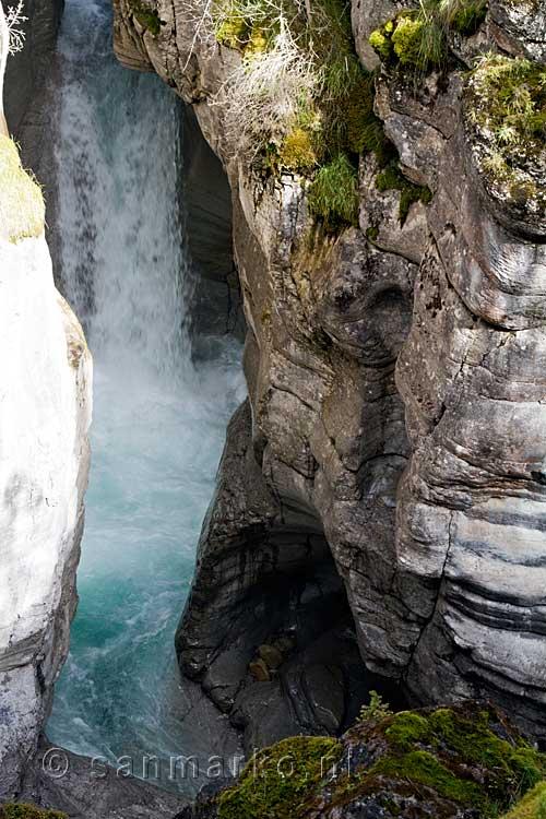 Een Mooi Uitzicht Op 233 233 N Van De Vele Watervallen In