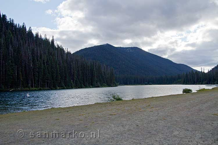 Lightning Lake in Manning Provincial Park in British Columbia in Canada