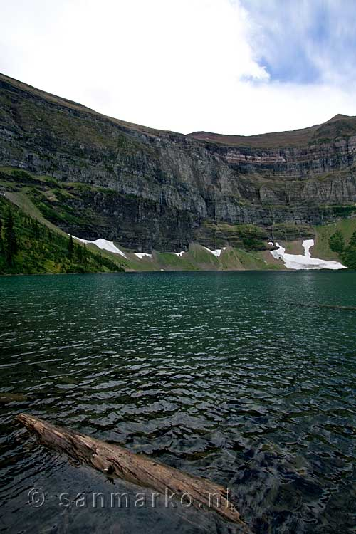 Wall Lake in Waterton Lakes National Park in Canada