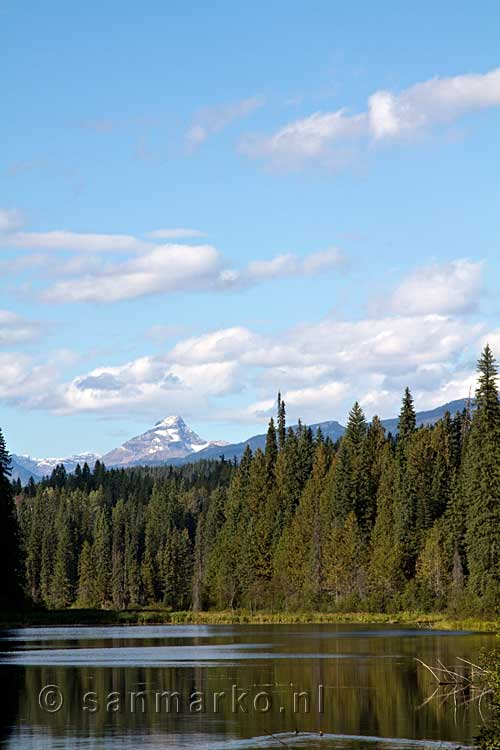 De Garnet Peak in Wells Gray Provinvial Park in Canada