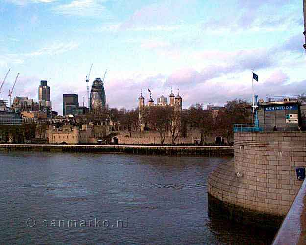 Tower of London aan de Thames
