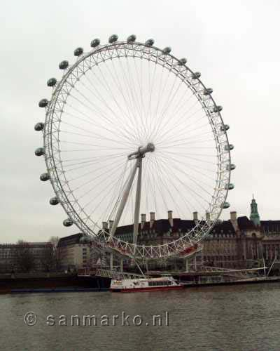 The London Eye of Millennium Wheel