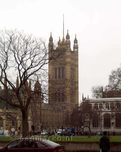 Victoria Tower, Palace of Westminster in Londen