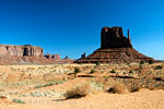 West Mitton Butte in Monument Valley in Utah