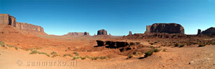Panorama Monument Valley - USA