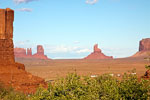 Monument Valley in Arizona en Utah